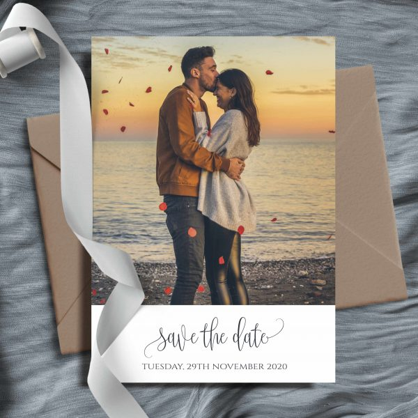 Amelia Photo Save The Date Cards