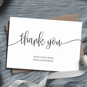 Amelia Thank You Cards