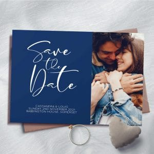 Cassandra Photo Save The Date Cards