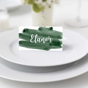 Elanor Watercolour Place Cards