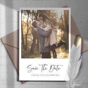 Sienna Photo Save The Date Cards