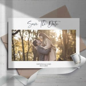 Sienna Image Save The Date Cards