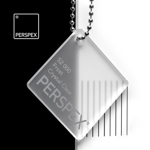 Crystal Frost Perspex